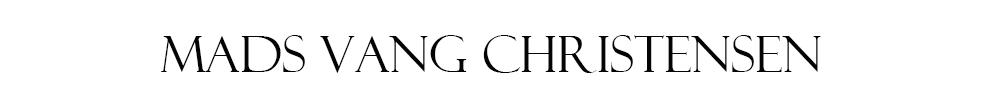 Mads Vang Christensen - Bevidsthed – Nærvær – Lederskab