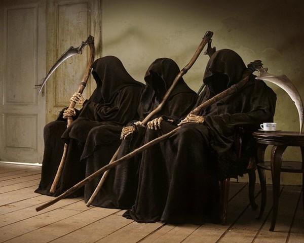 Dødens venteværelse