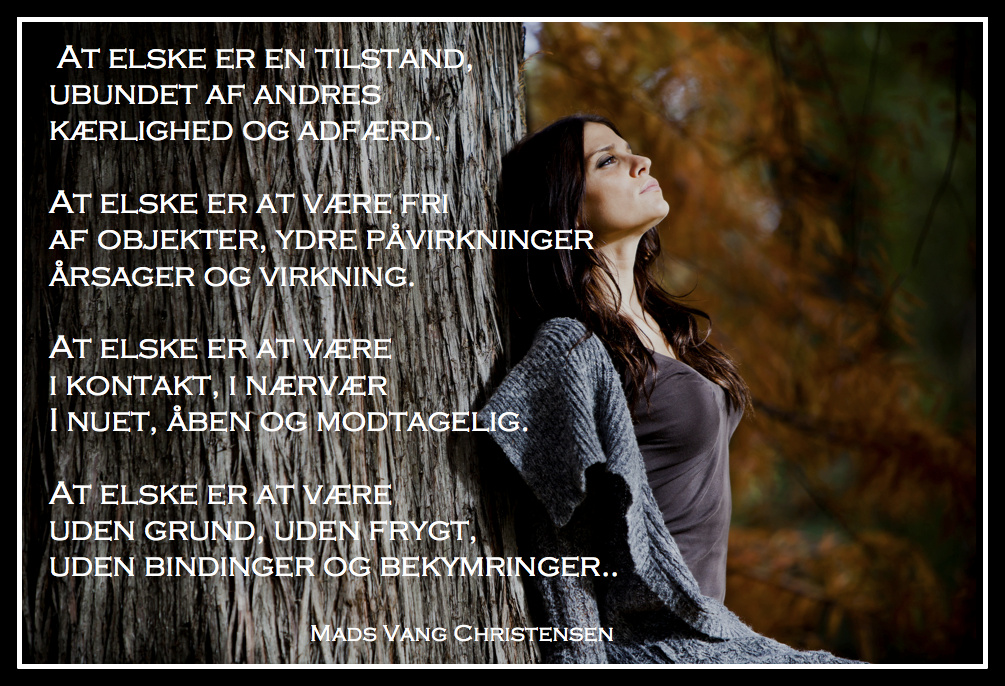 At elske af Mads Vang Christensen