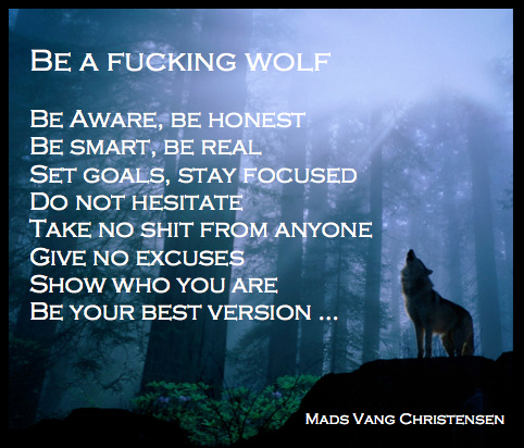 MC Be a fucking wolf