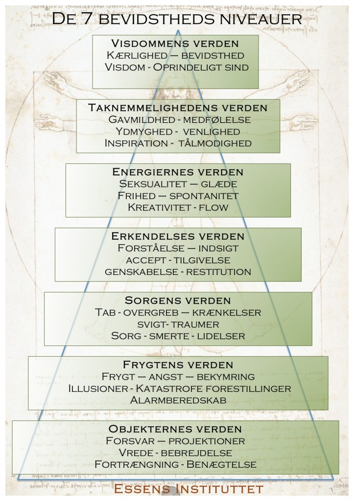 De 7 bevidstheds niveauer