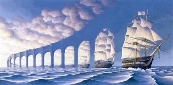 Surealistisk skibe