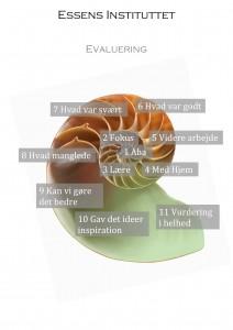 Evaluerings model hvid